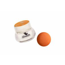 Цветная акриловая пудра для дизайна ногтей Кислотно-оранжевая (8 г.) 3738