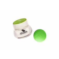 Цветная акриловая пудра Зеленая для дизайна ногтей  (8 г.) 3747