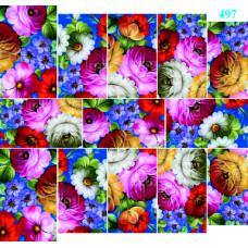 """Слайдер дизайн """"Цветы"""" 497"""