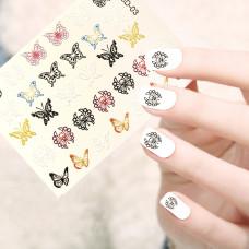 """Слайдер 3D-03 """"Цветные бабочки"""""""