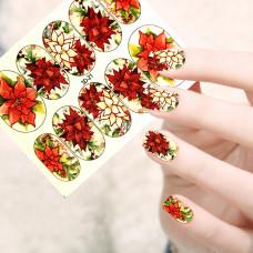 """Слайдер 3D-21""""Красные цветы"""""""