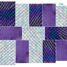 Dona Jerdona Слайдер дизайн (Кожа змеи) син. 344