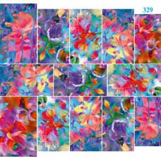 Dona Jerdona Слайдер дизайн (Абстракт Цветы) 329