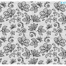 Dona Jerdona Слайдер дизайн (Вуаль Цветы) К63