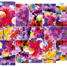 Dona Jerdona Слайдер дизайн (Абстракция цветы) 328