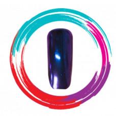 Зеркальная пудра/хамелеон, серый-розовый-фиолетовый (1 гр.)