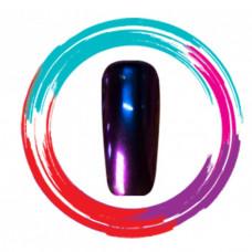 Зеркальная пудра/хамелеон, красный-синий-фиолетовый (1 гр.)