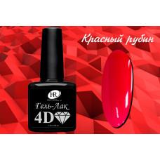 HR Гель-лак 4D красный