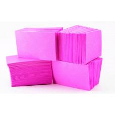 Безворсовые салфетки для маникюра 4*6 см сиреневые (400 шт)