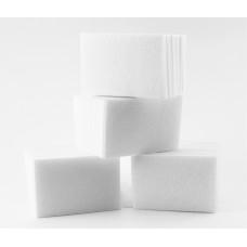 Безворсовые салфетки для маникюра 4*6 см белые (400 шт)
