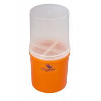 Dona Jerdona Стакан-контейнер пластмассовый Большой Оранжевый 10095