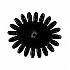 Dona Jerdona Ромашка пластиковая черная  (20 делений)