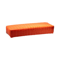 Подлокотник для маникюра 30 см.оранжевый кроко 101473 Dona Jerdona