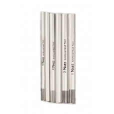 Dona Jerdona трубочки для моделирования арки 6 шт. серебристые 100277