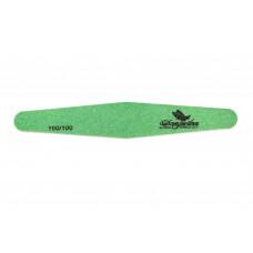 Dona Jerdona пилка для искусственных ногтей 100/100 ромб зеленая 100405