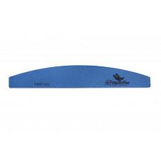 Dona Jerdona Пилка для искусственных ногтей 120/120 полукруглая синяя 100411