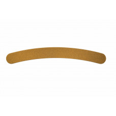 Dona Jerdona пилка для искусственных ногтей 100/180 бумеранг коричневая 10090