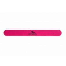 Dona Jerdona пилка для натуральных ногтей 150/180 овальная узкая розовая 100205