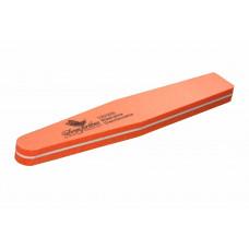Dona Jerdona Шлифовка для ногтей 120/220 ромб оранжевая 100197