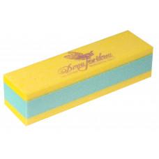 Dona Jerdona Баф шлифовочный двухсторонний желтый/зеленый