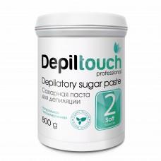 Сахарная паста для депиляции № 2 МЯГКАЯ (Depiltouch professional) 800г