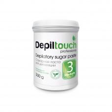 Сахарная паста для депиляции № 3 СРЕДНЯЯ (Depiltouch professional) 330г