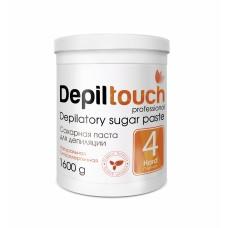 Сахарная паста для депиляции № 4 ПЛОТНАЯ (Depiltouch professional) 1600г