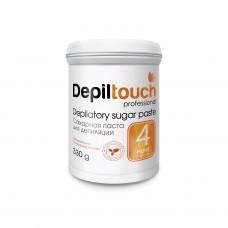 Сахарная паста для депиляции № 4 ПЛОТНАЯ (Depiltouch professional) 330г
