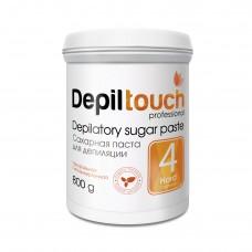 Сахарная паста для депиляции № 4 ПЛОТНАЯ (Depiltouch professional) 800г
