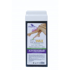 Био-воск в картридже Азуленовый для коротких и жестких волос широкий ролик (110гр) NEW