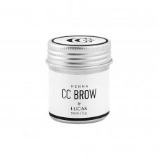 Хна для бровей CC BROW (BLACK), баночка 5 гр