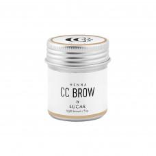 Хна для бровей CC BROW (LIGHT BROWN) в баночке (светло-коричневая), 5 гр