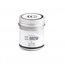 Хна для бровей CC Brow (black) в баночке (черный), 10 гр