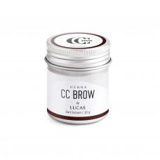 Хна для бровей CC Brow (dark brown) в баночке (темно-коричневый), 10 гр