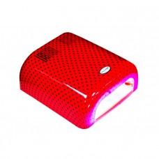 Holy Rose Лампа UV 36W 120 cек или бесконечность оранжевая в горошек