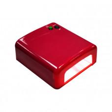 Holy Rose Лампа UV 36W 120 cек или бесконечность красная