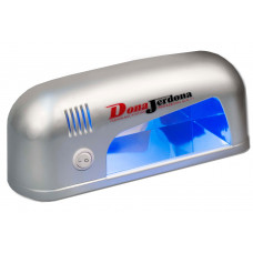 Dona Jerdona Лампа UV 9W круглая серебряная Д990