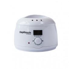Воскоплав Depiltouch для воска в банках и брикетах с терморегулятором 30-135С, 500мл.,белый LED (DV.29)