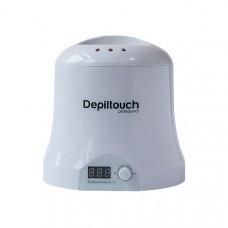 Воскоплав Depiltouch для воска в банках и брикетах с терморегулятором 30-135С, 1000мл, белый LED (DV.30)