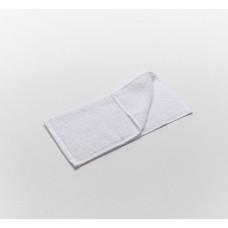 Полотенце белое махровое 50х90