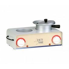 Нагреватель для воска двойной с кастрюлькой Beauty Image (предзаказ)