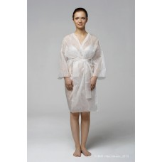 Халат-кимоно с рукавами