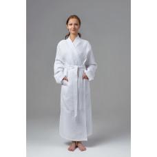 Халат-кимоно вафельный