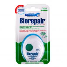 Biorepair® Waxed Dental Floss 50m Зубная нить с воском