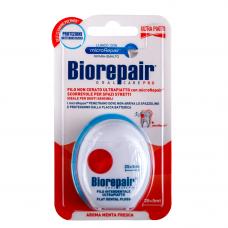 Biorepair® Flat Dental Floss 25+5m Зубная нить пропитанная воском