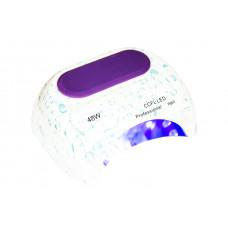 Лампа LED Капли + CCFL таймер 10,30,60 сек. и бесконечность 48 W