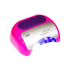 Лампа LED Розовая + CCFL таймер 10,30,60 сек. и бесконечность 48 W